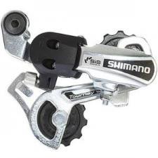 Переключатель задний Shimano Tourney TY21-B GS 6ск крепление на болт серебро б/уп ARDTY21BGSDS