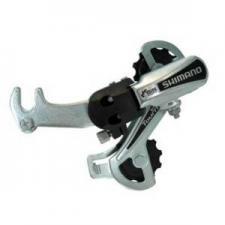 Переключатель задний Shimano Tourney TY21 B GS 6ск крепление на ось серебро б/уп ARDTY21BGSBS