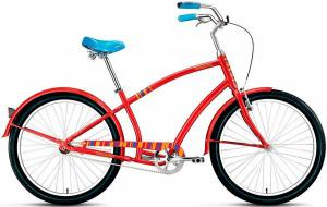 """Велосипед 26"""" Forward Surf 1.0 Красный 15-16 г"""