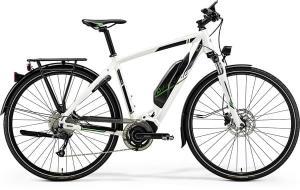 Велосипед Merida eSpresso 300EQ Silk Pearl White (Green) 2019