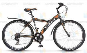Велосипед Stels Navigator 530 V 26 (2016) Серый/Черный/Оранжевый