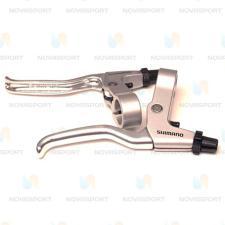 Ручки тормозные Shimano BL-R550 серебро EBLR550PAS