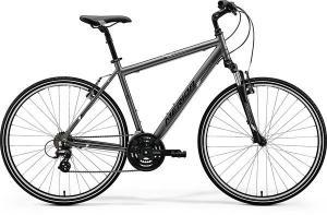 Велосипед Merida Crossway 10-V Mat Anthracite (White) 2018