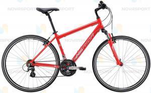 Велосипед Merida Crossway 10-V (2016) Matt Red/White