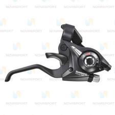 Шифтер/тормозная ручка Shimano Tourney ST-EF51 лев 3ск черный б/уп ASTEF51LSBL