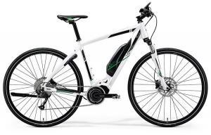 Велосипед Merida eSpresso 300 Silk Pearl White (Green) 2019