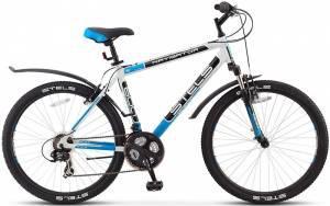 Велосипед Stels Navigator 600 V V-010 Белый/Черный/Синий