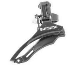 Переключатель передний Shimano FD-TZ30 31,8мм верхняя тяга б/уп AFDTZ30TM6T