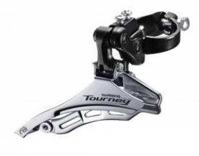 Переключатель передний Shimano Tourney TY300 31,8мм верхняя тяга б/уп AFDTY300DSTM6