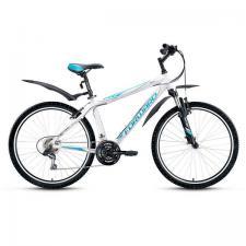"Велосипед 26"" Forward Apache 1.0 Белый 21 ск 17-18 г"