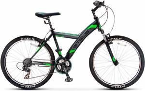 Велосипед Stels Navigator 550 V V020 Черный/Зеленый