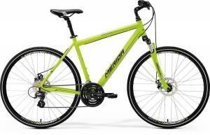 Велосипед Merida Crossway 15MD Matt Green/Grey/Black (2017)