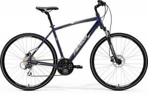 Велосипед Merida Crossway 20D Dark Blue/Silver/White (2017)