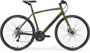 Велосипед Merida Crossway Urban 40D Fed Green/Dark Green (2017)