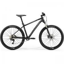 Велосипед Merida Big Seven 400 MattBlack/Silver (White) 2019