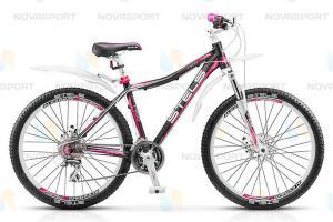 Велосипед Stels Miss 7300 MD 26 (2015) Черный/Розовый/Белый