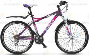 Велосипед Stels Miss 8300 V 26 (2015) Пурпурный/Розовый/Белый
