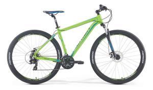 Велосипед Merida Big Nine 10-MD Matt Green/Black/Blue 2018