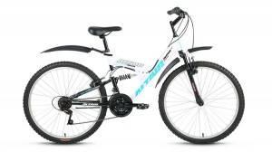 """Велосипед 26"""" Altair FS 26 Белый/Черный"""