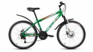 "Велосипед 24"" Altair MTB HT Disc Зеленый"