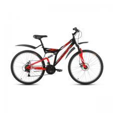"""Велосипед 26"""" Altair MTB FS 26 Disc Черный/Красный 18 ск 17-18 г"""