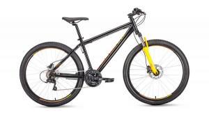 """Велосипед 27.5"""" Forward Sporting 3.0 Disc Черный Оранжевый 18-19 г"""