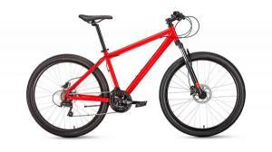 "Велосипед 27.5"" Forward Sporting 3.0 Disc Красный Матовый 18-19 г"