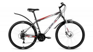 """Велосипед 26"""" Altair MTB HT 3.0 Disc Серый 18 ск 17-18 г"""