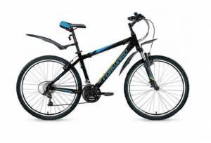 Велосипед Forward Hardi 1.0 26 (2016) Черный Матовый