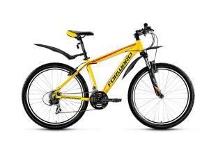 Велосипед Forward Next 1.0 26 (2017) Желтый Матовый