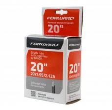 """Велокамера 20"""" Forward TU202(бутил) 20х1,95-2,125 AV"""