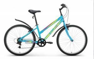 "Велосипед 26"" Altair MTB HT Lady 1.0 Голубой"