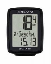 Велокомпьютер Sigma ВС 7.16 Topline 7 функций