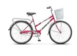 """Велосипед Stels Navigator 26"""" 210 Lady Z010 Фиалковый (с корзиной)"""