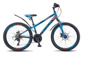 """Велосипед Stels Navigator 24"""" 450 MD V010 Синий/Черный (LU088514)"""