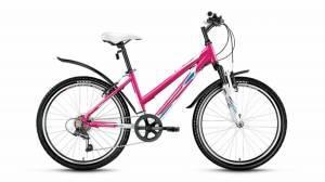 Велосипед Forward Seido 1.0 24 (2017) Белый Розовый