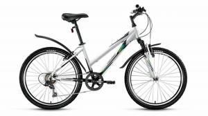 Велосипед Forward Seido 1.0 24 (2017) Белый Черный