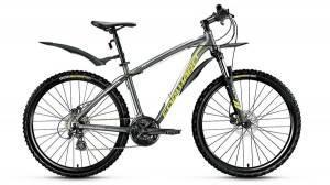 Велосипед Forward Agris 2.0 Disc 26 (2017) Серый Матовый