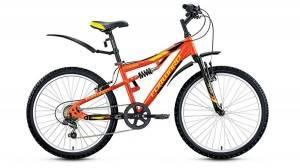Велосипед Forward Cyclone 1.0 24 (2017) Оранжевый/Черный