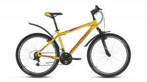 Велосипед Forward Hardi 1.0 26 (2017) Желтый Матовый