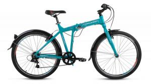 """Велосипед 26"""" Forward Tracer 1.0 Бирюзовый Матовый 6 ск17-18 г"""