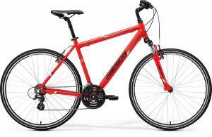 Велосипед Merida Crossway 10-V Matt Red/Black/White (2017)