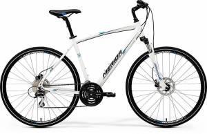 Велосипед Merida Crossway 20D White/Blue/Black (2017)
