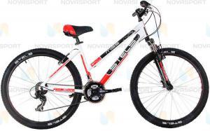 Велосипед Stels Miss 6000 V 26 (2016) Белый/Черный/Красный