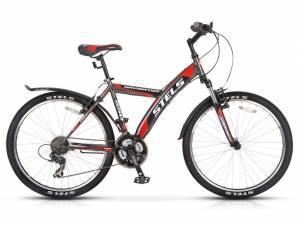 Велосипед Stels Navigator 550 V V020 Черный/Красный