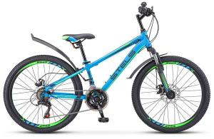"Велосипед Stels Navigator 24"" 400 MD V010 Синий (LU088428)"