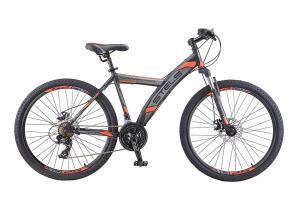 Велосипед Stels Navigator 550 MD V010 Черный/Красный (LU088515)
