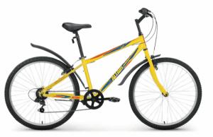 "Велосипед 26"" Altair MTB HT 26 1.0 Желтый 6 ск 17-18 г"