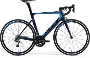 Велосипед Merida REACTO 7000-E UD Clear Blue (Blue/Antracite) 2018