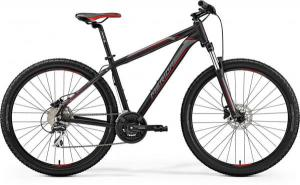 Велосипед Merida Big Seven 20-D Matt Black (Red/Silver) 2019